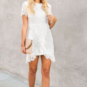 Worn Once White Lace Dress